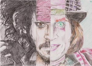 Johnny Depp - Mashup by ~razorwalk on deviantART (http://razorwalk.deviantart.com/art/Johnny-Depp-Mashup-269028630). Downloaded 12 Apr 2013. labelled as free to reuse
