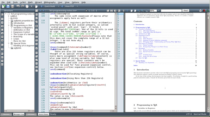texmaker templates latex editors winedt versus texstudio research reflections
