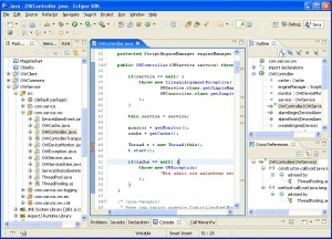 Eclipse IDE (Dowsnloaded from Google, vis Creative Commons - 06 Mar 2014)